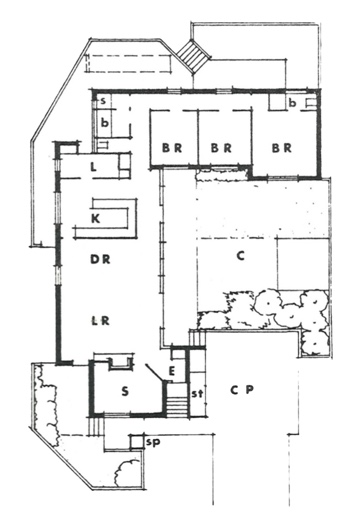 Courthouse CH3 floorplan